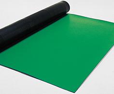 HAKKO(白光)制電マット 499-5テーブル用(ライト グリーン)