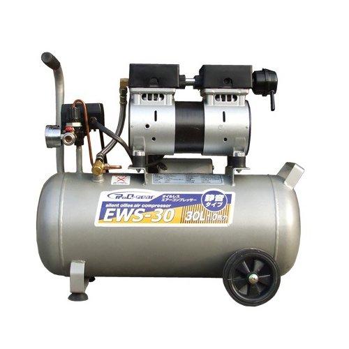 シンセイ静音オイルレスコンプレッサー 30L(EWS-30)