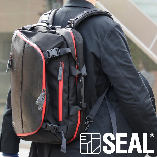 世界に一つだけの鞄 SEAL公式 あす楽対応 バックパック エクスパンダブル 防水 リュック 通勤 通学 大容量 人気 日本製 期間限定の激安セール シール SEAL 軽量 廃タイヤ メンズ プレゼント 黒 オンラインショッピング 先着イベント開催中 タイヤチューブ ギフト