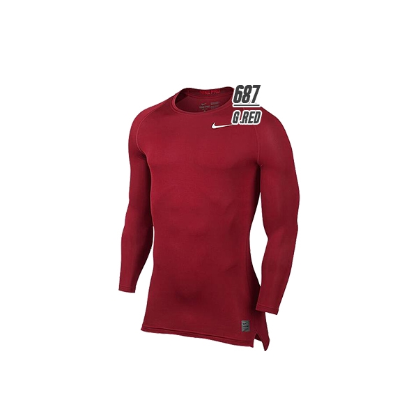 NIKE (Nike) Pro hyper cool compression l/s crew top 703089