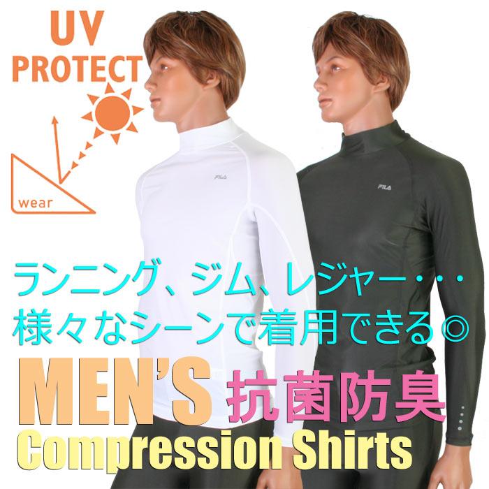 FILA (FIRA) 长长袖高领压缩衬衫抗菌 (男士 / multifitness) 416-117 (数据包数目)