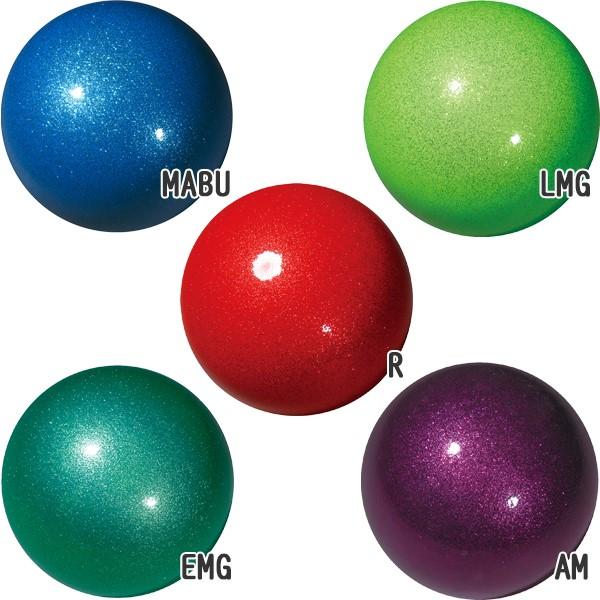 SASAKI(佐佐木)星系BRIGHT球M-207BR(供新体操/F.I.G.规格根据/公式体育运动大会使用的/球)