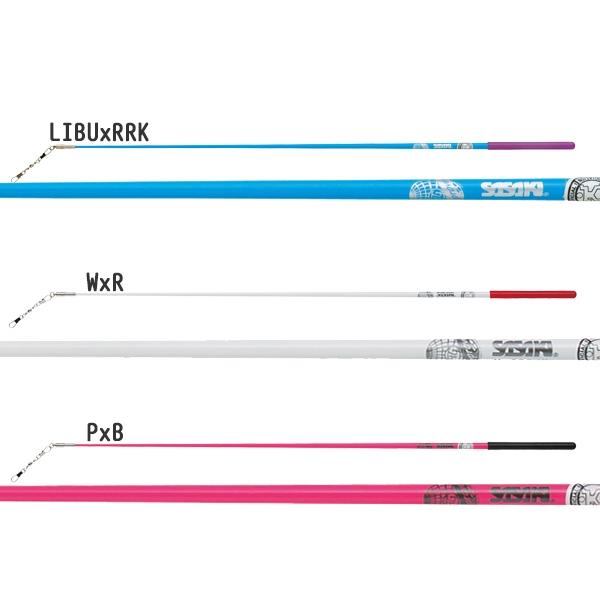 SASAKI(佐佐木)玻璃杯杆(短)M-700JK(蝴蝶结/新体操/F.I.G.规格根据/正式的体育运动大会事情)