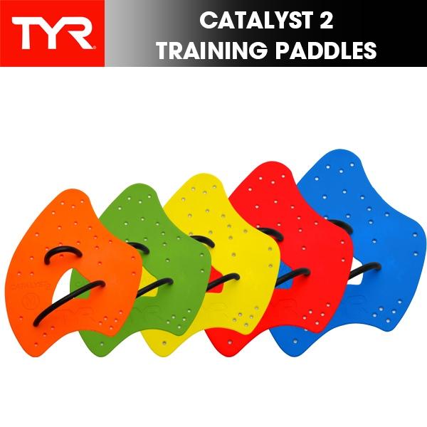 TYRスイムトレーニング用品 パケット便送料無料 TYR ティア CATALYST 2 TRAINING 水泳 水かき パドル 返品不可 競泳 人気ショップが最安値挑戦 練習 トレーニング PADDLES