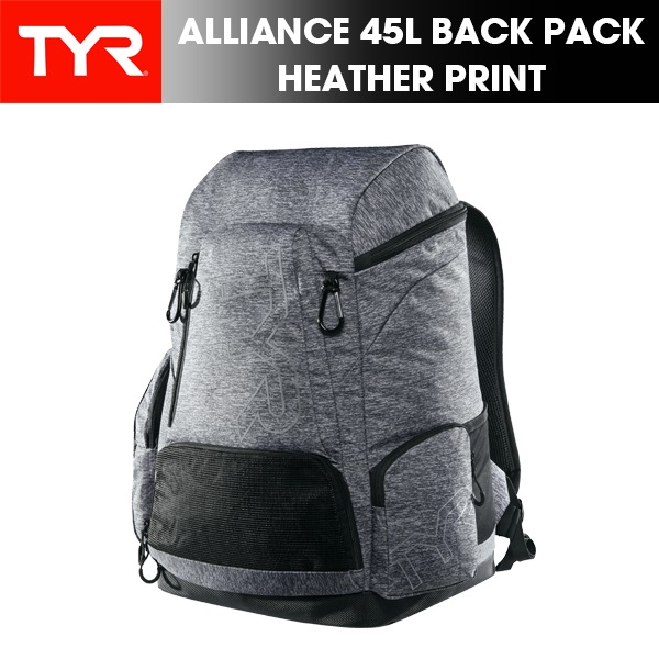TYR(ティア) ALLIANCE 45L BACK PACK HEATHER(バックパック/リュック/遠征/ジム/大会)