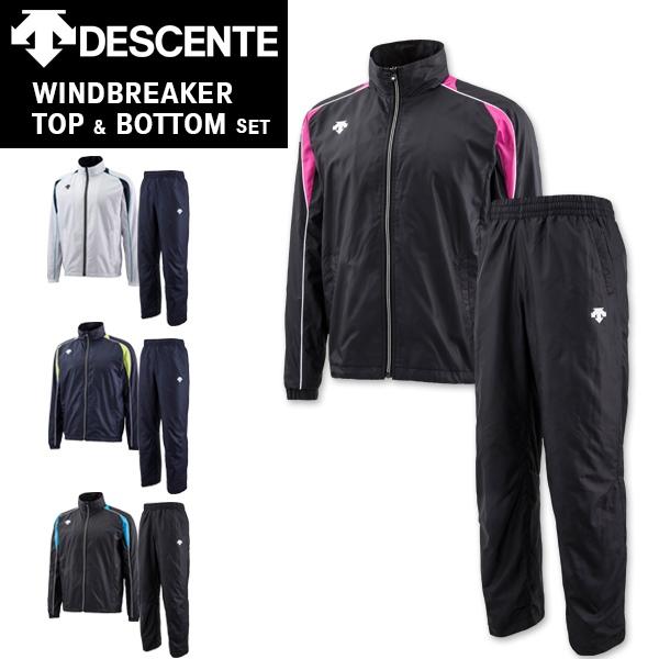 DESCENTE(デサント) ウィンドブレーカー &パンツ セット DAT38643864p(防寒/トレーニングウエア/上下セット)