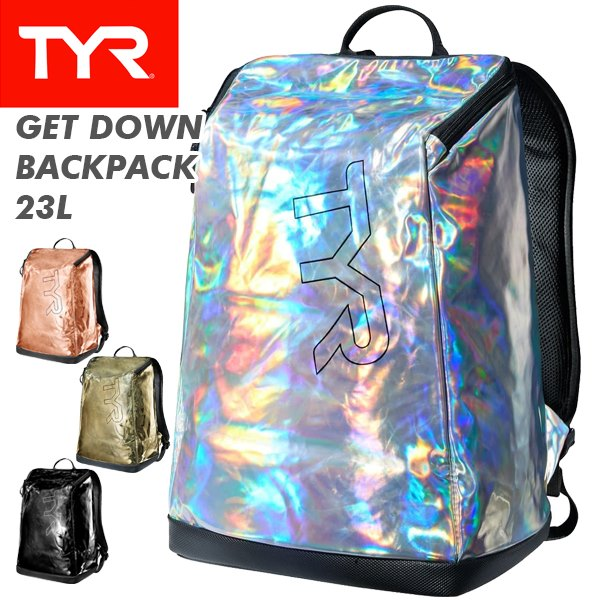 TYR(ティア) GET DOWN BACKPACK 23L LMTBP23 (バックパック/リュック/遠征/ジム/大会)