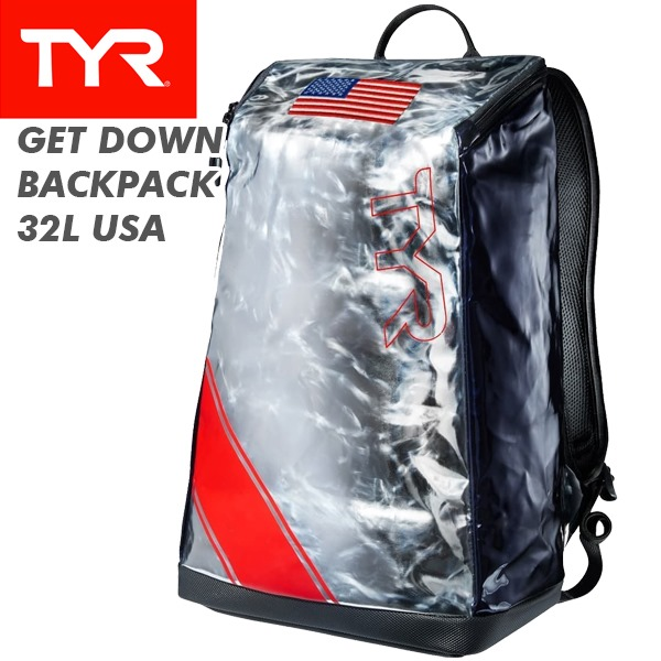 TYR(ティア) GET DOWN BACKPACK 32L USA LMTBP32 (バックパック/リュック/遠征/ジム/大会)