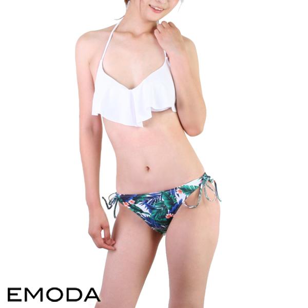 【あす楽】EMODA(エモダ)ボタニカルリーフ・バンドゥビキニ(レディース水着)305200