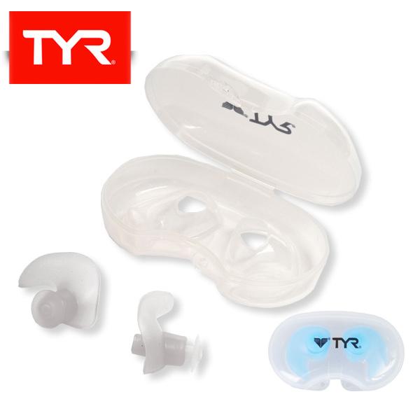 バーゲンセール TYRスイムアクセサリー パケット便200円可能 TYR ティア SILCONE MOLDED 耳栓 イヤープラグ PLUGS 1着でも送料無料 スイミング 水泳 EAR