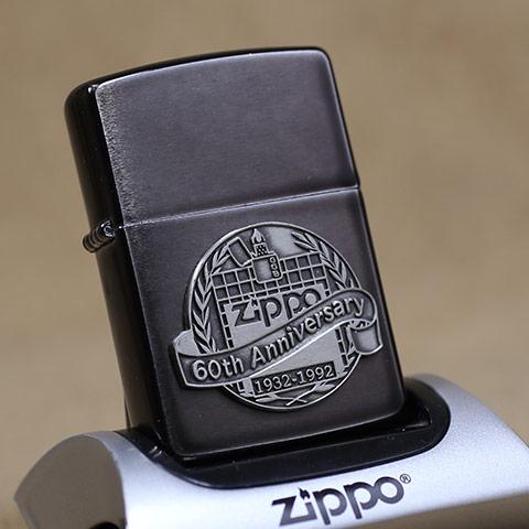1992年製未使用品Zippo/ジッポーライター 60th Anniversary