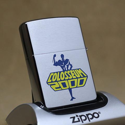 2000年製未使用品Zippo/ジッポーライター  COLOSSEUM 2000