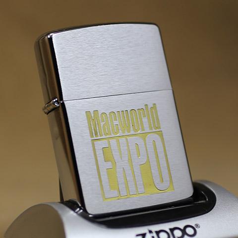 1996年製Zippo(ジッポーライター) Appleコンピュータの祭典/Macword EXPO EXPO, ワンサカ:b56eb8bf --- harrow-unison.org.uk