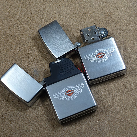 1998-unused Zippo Harley-Davidson 95th anniversary commemorative Snap on collaboration Kit.