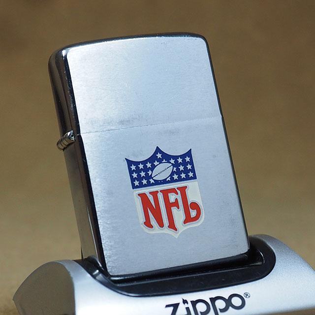 1974年製ビンテージZippo(ジッポーライター)  NFL/アメリカンフットボール