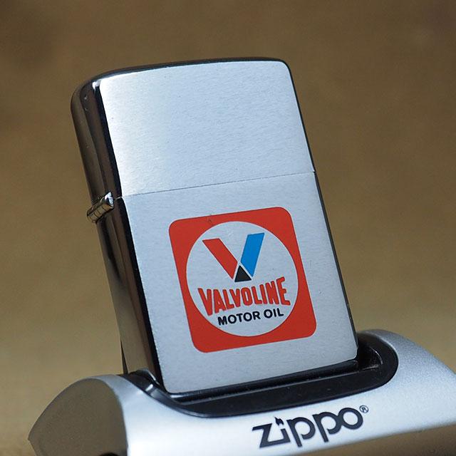 VALVOLINE1972年製ビンテージZippo(ジッポーライター)  VALVOLINE, 九州頑固おやじのこだわり酒屋:09b47126 --- harrow-unison.org.uk