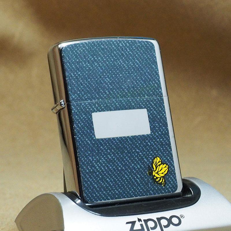 1977年製 未使用品 ビンテージ Zippo ジッポー ライター 箱付 デットストック シーンズ柄:蜂