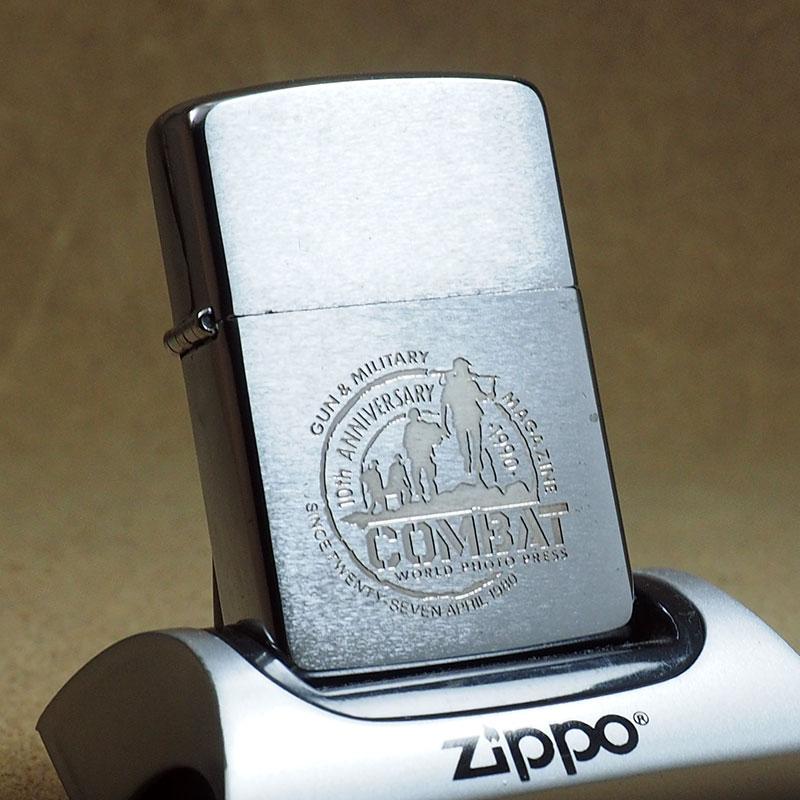 1989年製 未使用品 ビンテージ Zippo ジッポー ライター 箱付 デットストック COMBAT(コンバット)