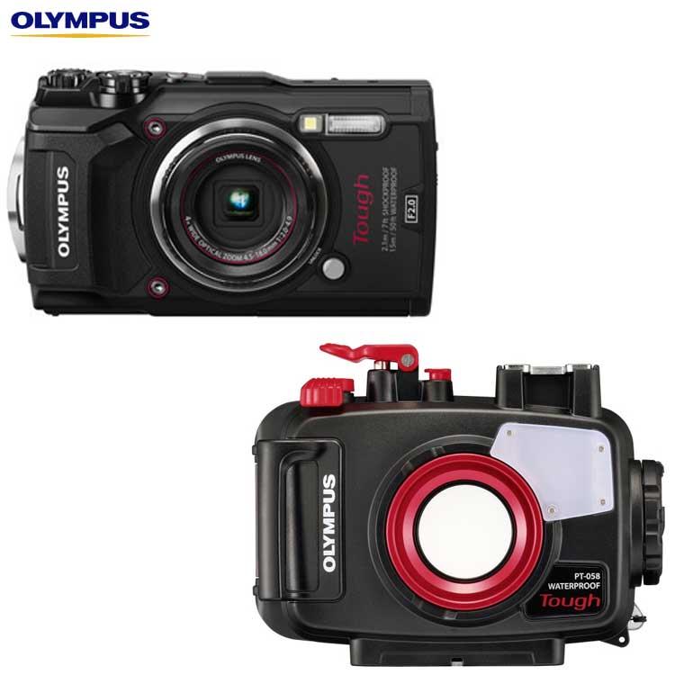 【ネット限定】 【OLYMPUS TG-5+PT-058】オリンパス TG-5+PT-058 水中カメラセット, ココルカ:d7b876a8 --- clftranspo.dominiotemporario.com