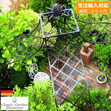 【クーポンで10%OFF★3/20 0:00~3/22 23:59】 【Classic Garden Elements】【ガーデンアーチ】Kiftsgate-Pavillion キフツゲートパビリオン(受注輸入品)