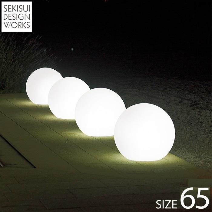 【屋外用・ライト付きオブジェ・ガーデンライト Light65】Sfera Light65 スフェラ・ライト, 買付け屋:12094f9e --- sunward.msk.ru