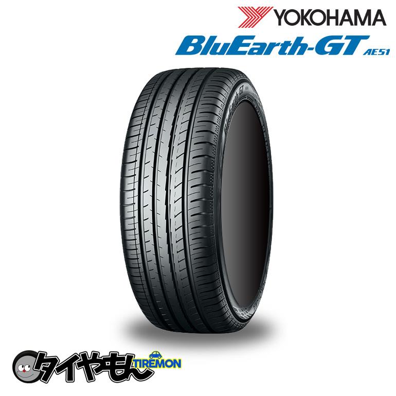 ヨコハマタイヤ ブルーアース GT AE51 235/50R18 新品タイヤ 1本価格 低燃費 雨の日も安心 235/50-18 サマータイヤ