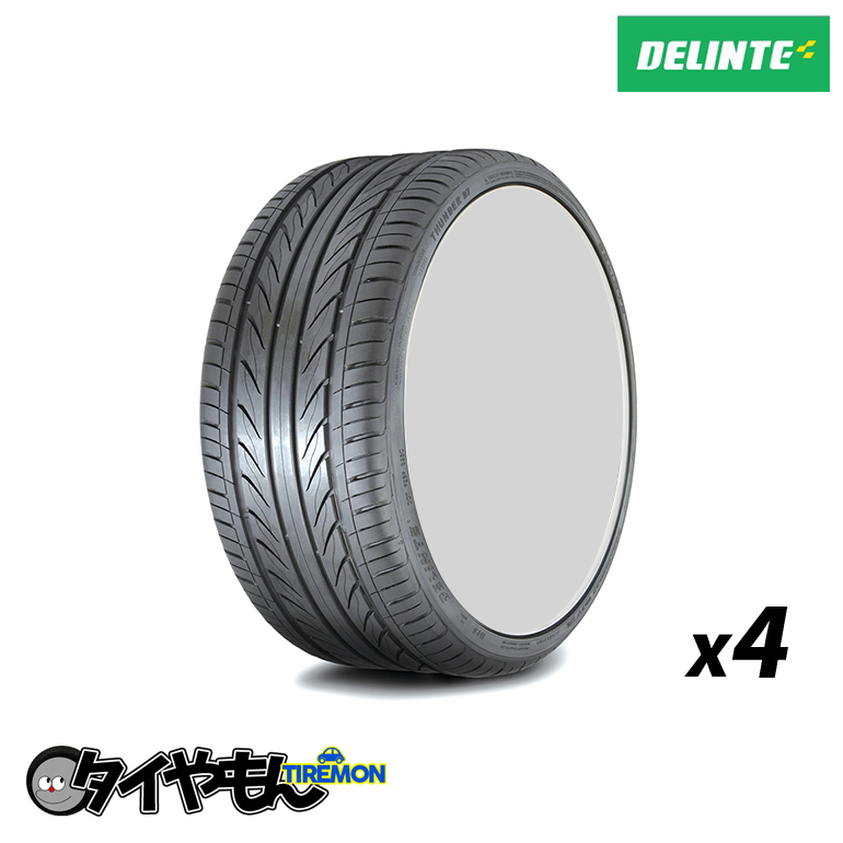 デリンテ D7 215/40R18 新品タイヤ 4本セット価格 コスパ最強 送料無料 サマータイヤ 215/40-18