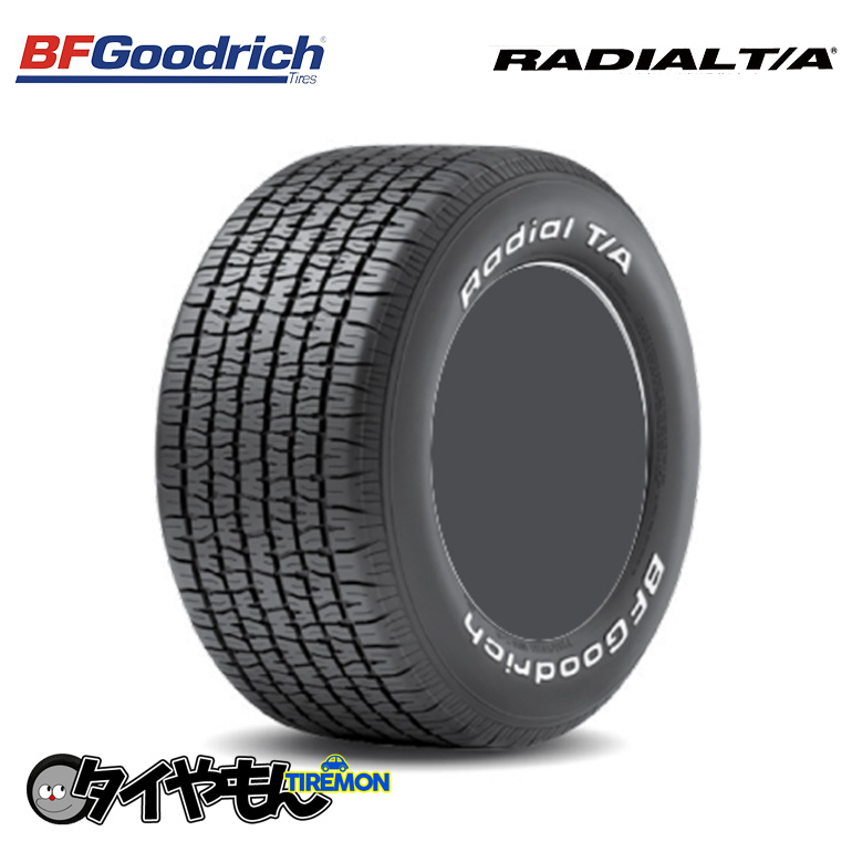 日本製 必ず在庫納期確認をお願い致します ついに復刻 マッスルカー クラシックカー 旧車 タイヤのみ 205 60R13 BFグッドリッチ 13インチ A 激安超特価 4本セット A ラジアルT T RADIAL TA 60-13