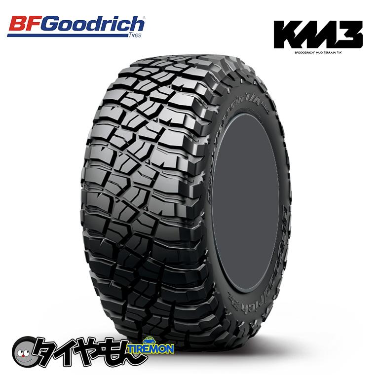オフロードに最適 走破性抜群 豊富な品 サマータイヤ BFグッドリッチ マッドテレーン T A KM3 新品タイヤ ※ラッピング ※ 2本セット価格 35×12.5R20 35×12.5-20 RBL LRE 121Q