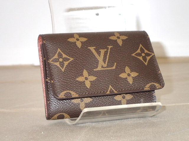 e2d50fd09bbf Second  ☆ LOUIS VUITTON Louis Vuitton Monogram card holder   card ...