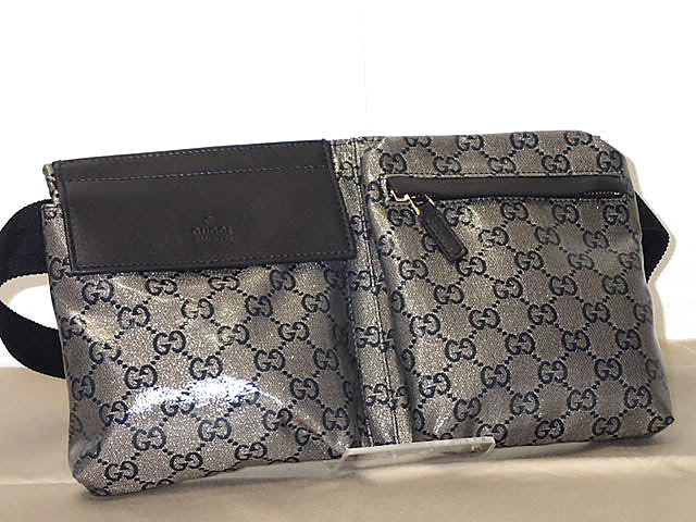 bdf1a1aa0618 ☆GUCCI Gucci crystal GG waist porch / belt bag 28566-adaptive tkifs04gm  Lady's ...
