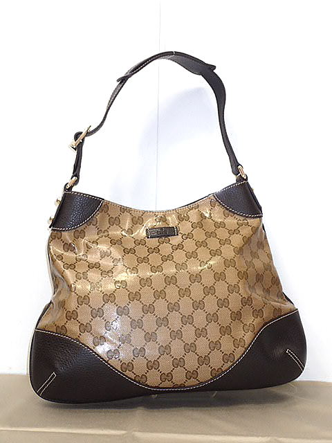 Gucci Crystal Gg Shoulder Bag 272386 Adaptive Lady S