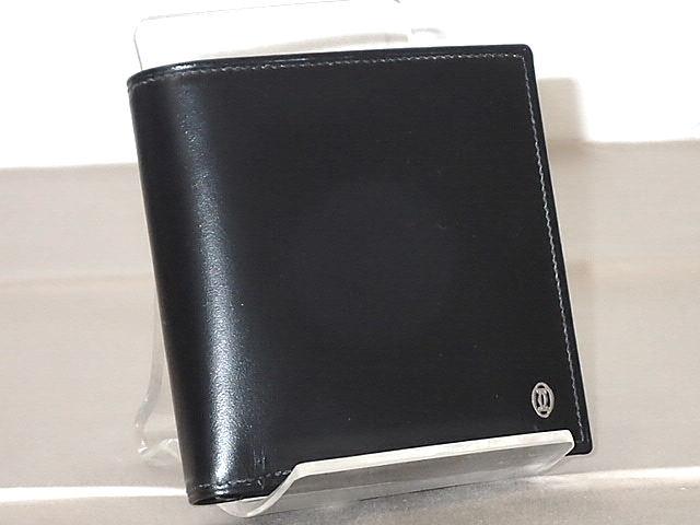 ★【送料無料】CARTIER カルティエ パシャ 2つ折り財布 L3000137 【中古】あす楽対応tkifs04gm メンズ