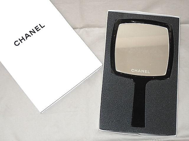 2f59cf9528f7 ☆【送料無料】CHANEL シャネル 手鏡 ハンドミラー (ノベルティ) 【中古】