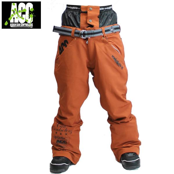 17-18 ACC パンツ ARTIST PANTS: D.Orange 正規品/スノーボードウエア/ウェア/メンズ/snow