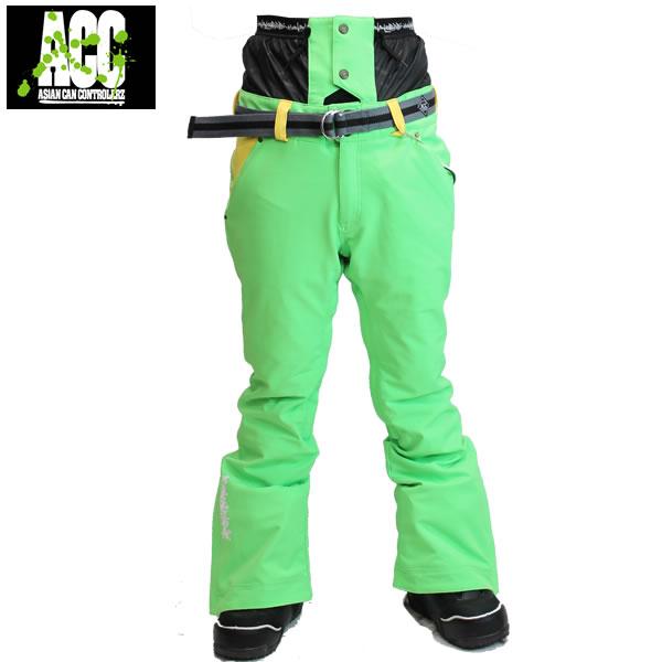 17-18 ACC パンツ EXTREME PANTS: Neon Green 正規品/スノーボードウエア/ウェア/メンズ/snow