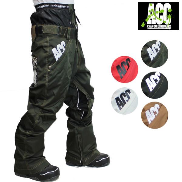 19-20 ACC パンツ ARTIST PNT : Solid 正規品/スノーボードウエア/ウェア/メンズ/レディース/スキー/スノボ/snow