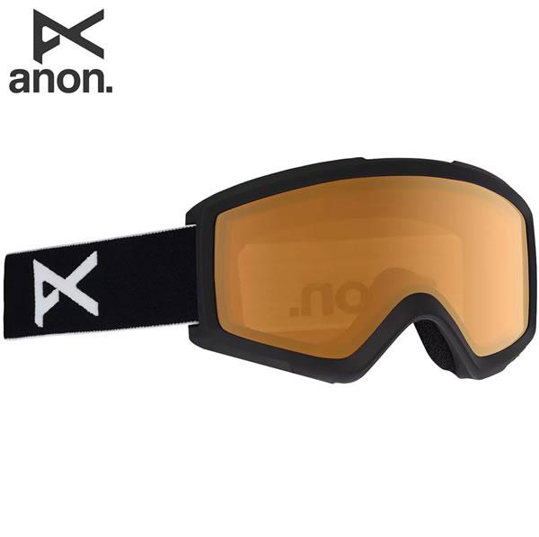 「全品5倍 4日20時~11日02時迄」19-20 ANON ゴーグル anon. Helix 2.0 18528100: Black / Amber 正規品/アノン/スノーボード/スキー/メンズ/snow/スノボ