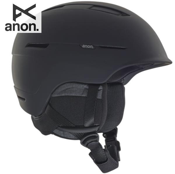 「全品5倍 4日20時~11日02時迄」18-19 ANON ヘルメット INVERT ASIAN FIT 20604100: Black 正規品/アノン/メンズ/スノーボード/スキー/インバート/snow/スノボ