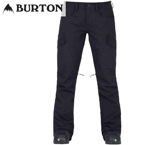 17-18 レディース BURTON パンツ Women's Gloria Pant 10101104: True Black 国内正規品/スノーボードウエア/バートン/snow/スノボ
