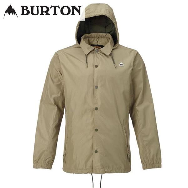 「全品5倍 22日10時迄」18SS BURTON コーチジャケットTrackback Jacket 19599100: Aloe 正規品/バートン/メンズ/スノーボード/ウエア/ウェア/snow/スノボ