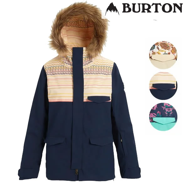 「全品5倍 26日迄!」19-20 レディース BURTON ジャケット Women's Zeroin Jacket 20510101: 国内正規品/スノーボードウエア/バートン/スノボ/snow