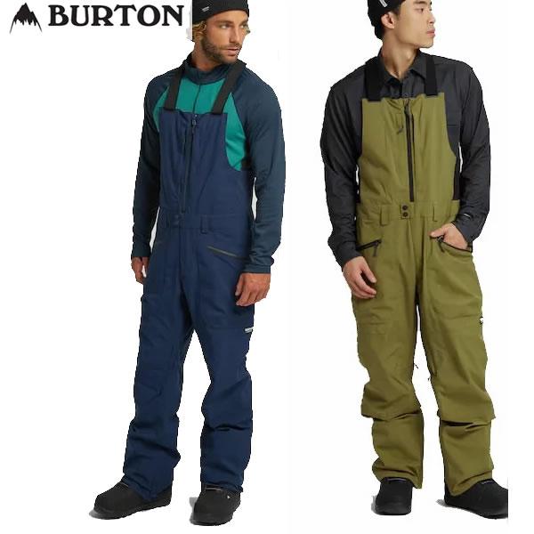 スローバックな雰囲気あふれるクラシックな多機能ビブ 21-22 BURTON ビブパンツ Men's Reserve Bib Pant 正規品 バートン 在庫一掃 snow 15003105: ウェア メンズ 人気急上昇 スノーボードウエア スノボ