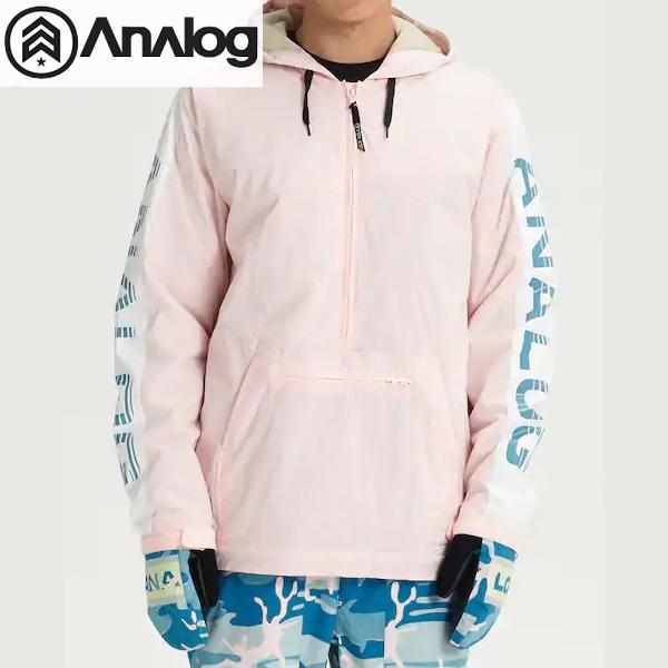 「全品5倍 4日20時~11日02時迄」18-19 ANALOG ジャケット Men's Analog Chainlink Anorak 20620100: Crystal 正規品/アナログ/メンズ/スノーボードウエア/snow/スノボ