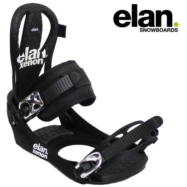 17-18 ELAN バインディング XENON: blk 正規品/メンズ/エラン/スノーボード/ビンディング/SNOW/2017