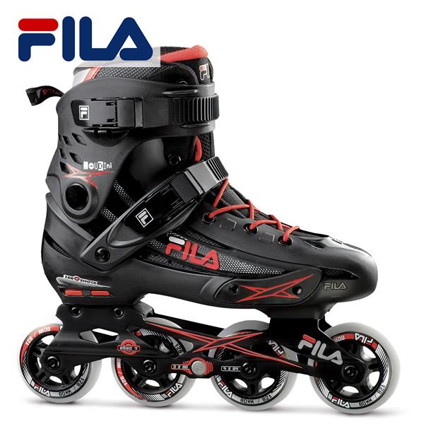 スキーのオフトレ トレーニングとしても最適 全品5倍 直輸入品激安 日本未発売 12日迄 FILA インラインスケート HOUDINI 010617080: フィラ RED レディース BLK 国内正規品 ユニセックス メンズ