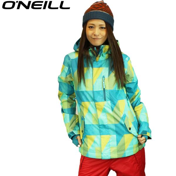 13 O'neillオニール レディース スノーボードジャケット PWES CATS EYE JACKET 682112:BLU *sl40~sw* /snow/スノボ