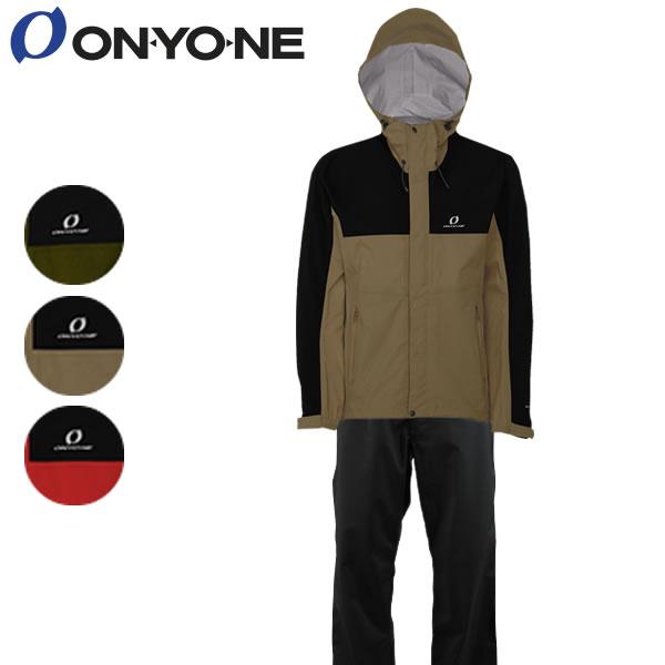 20SS ONYONE レインスーツ 3L COMBAT RAIN SUIT ods92030: 正規品/オンヨネ/オンリッジ/メンズ/雨具/カッパ/合羽/cat-out