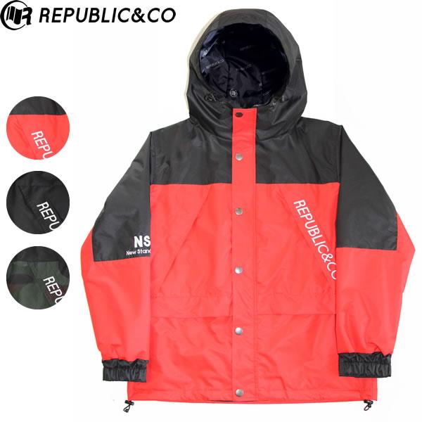 19-20 REPUBLIC&CO ジャケット 9CLUB JACKET: 国内正規品/メンズ/スノーボードウエア/ウェア/リパブリック/snow