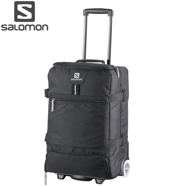 18-19 SALOMON キャリーバッグ CONTAINER CABIN LC1115400: Black 正規品/サロモン/トラベル/スキー/スノーボード/l328622/snow